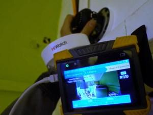 Монтаж видеонаблюдения в торговом центре