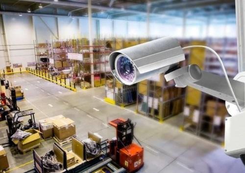 Монтаж видеонаблюдения на складе