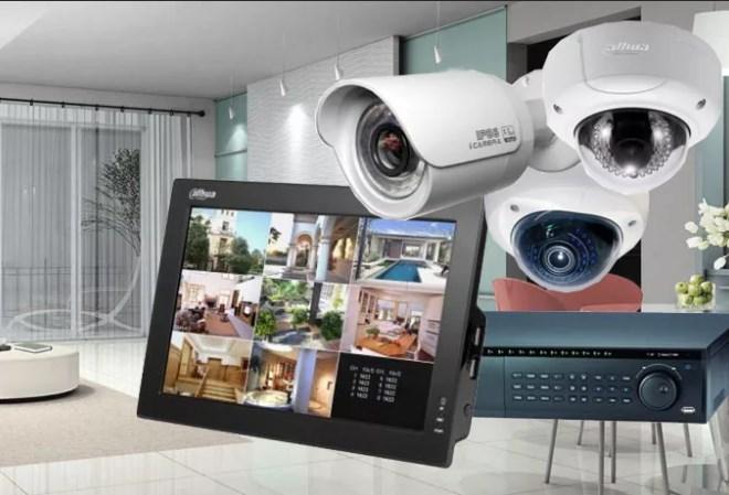 видеонаблюдение для квартиры - комплект