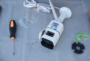 монтаж wi-fi камеры видеонаблюдения - фото 1