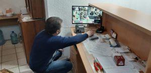 Монтаж системы видеонаблюдения в учебном учреждении фото 6