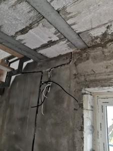 Электромонтажные работы на частном доме