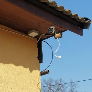 камера видеонаблюдения на пожарно-химической станции