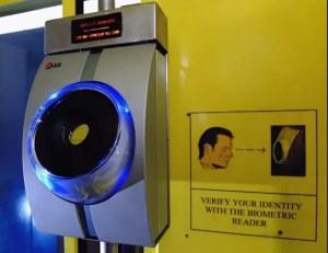 сканирование сетчатки глаз