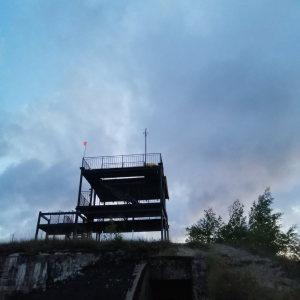 установка видеонаблюдения на высоте