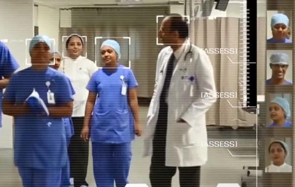 распознавание лиц в больнице