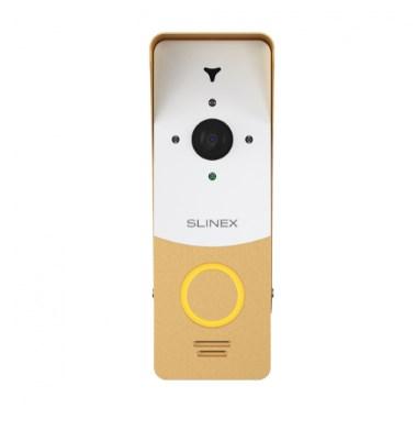 Вызывная панель Slinex ML-20HR белый + золото